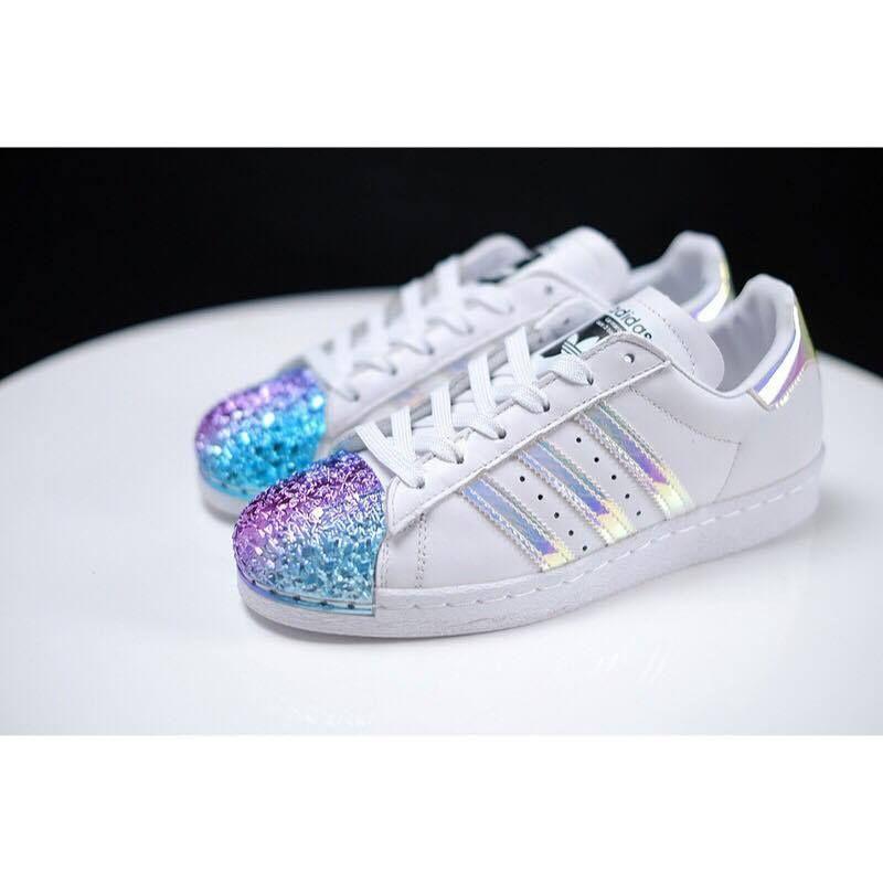 buty adidas superstar holograficzne