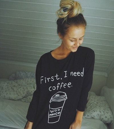 Bluza First I need Coffee