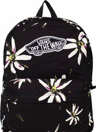 plecaki vans czarny w kwiatki