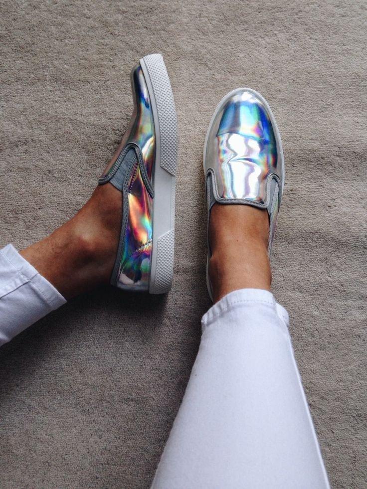 6e7b8ebe0fe4e Buty holograficzne slip-on - gdzie kupić ? , #buty, #holograficzne,  #tenisówki, #slip-on, #trampki wkładane