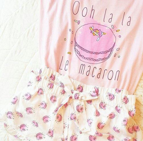 W Mega piżama z nadrukiem - gdzie kupić ? , #cute, #piżama, #kawaii MJ58