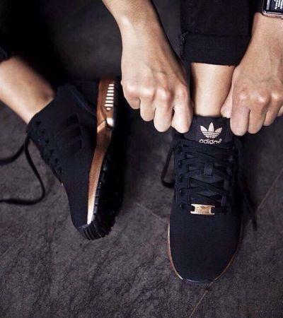 adidas buty damskie flux rose gold