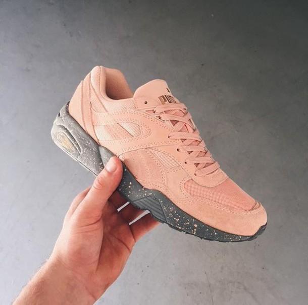 buty puma damskie pudrowy róż