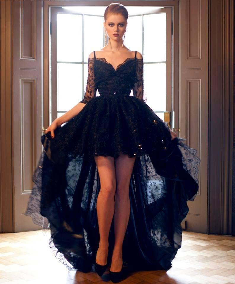 7460fd839e12f9 Sukienka asymetryczna koronkowa - gdzie kupić ? , #sukienka, #czarna,  #koronkowa, #asymetryczna