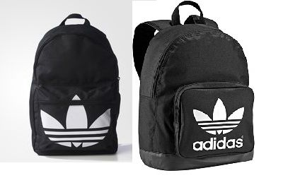 db0e745ba3fb7 Plecak Adidas Orginals czarny białe logo - gdzie kupić