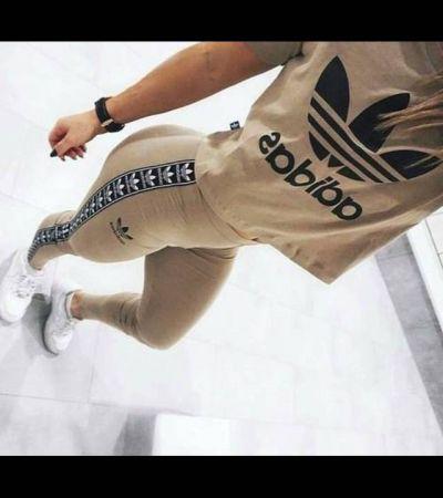 ograniczona guantity dobry taniej Komplet Adidas legginsy + bluzka - gdzie kupić ? , #adidas ...