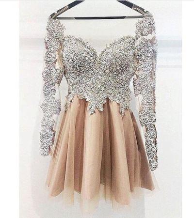 52f6d34e0f Bogato zdobiona sukienka - gdzie kupić