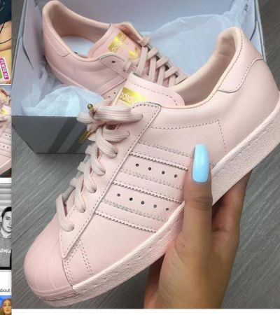 zniżki z fabryki nowe przyloty duża obniżka Adidas superstar pudrowe - gdzie kupić ? , #buty, #adidas ...