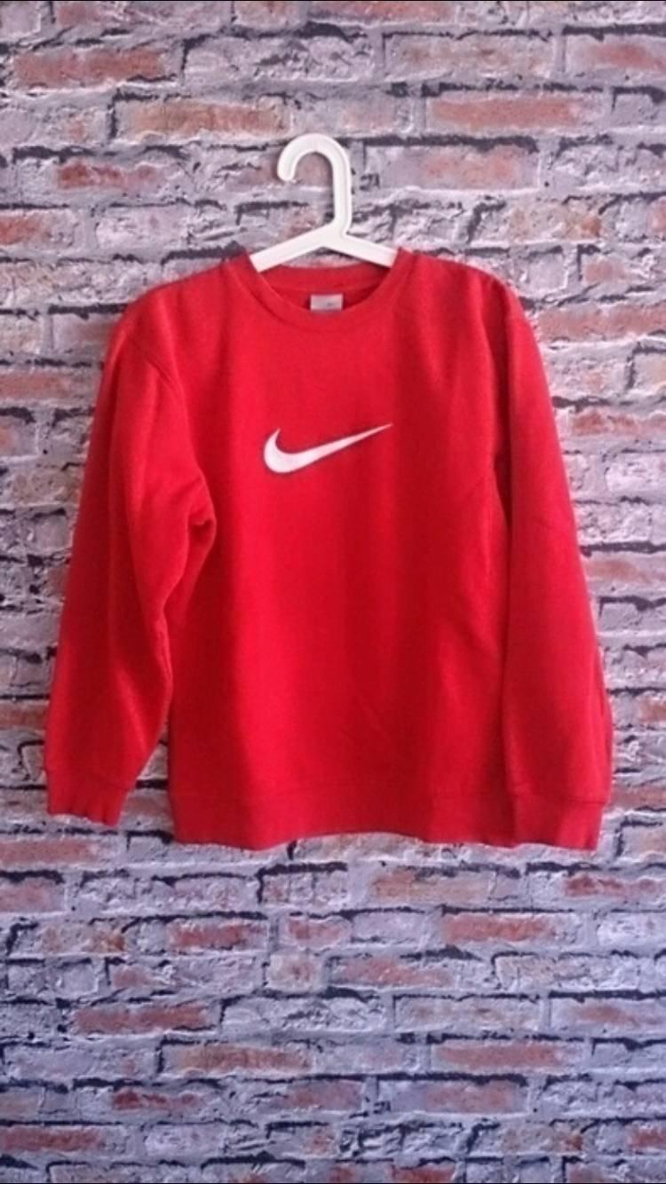 b6bf58ad Czerwona bluza nike