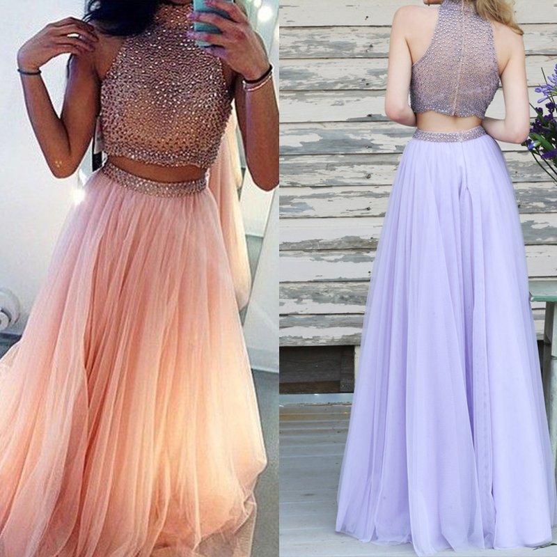 Sukienka dwuczęściowa RÓŻOWA