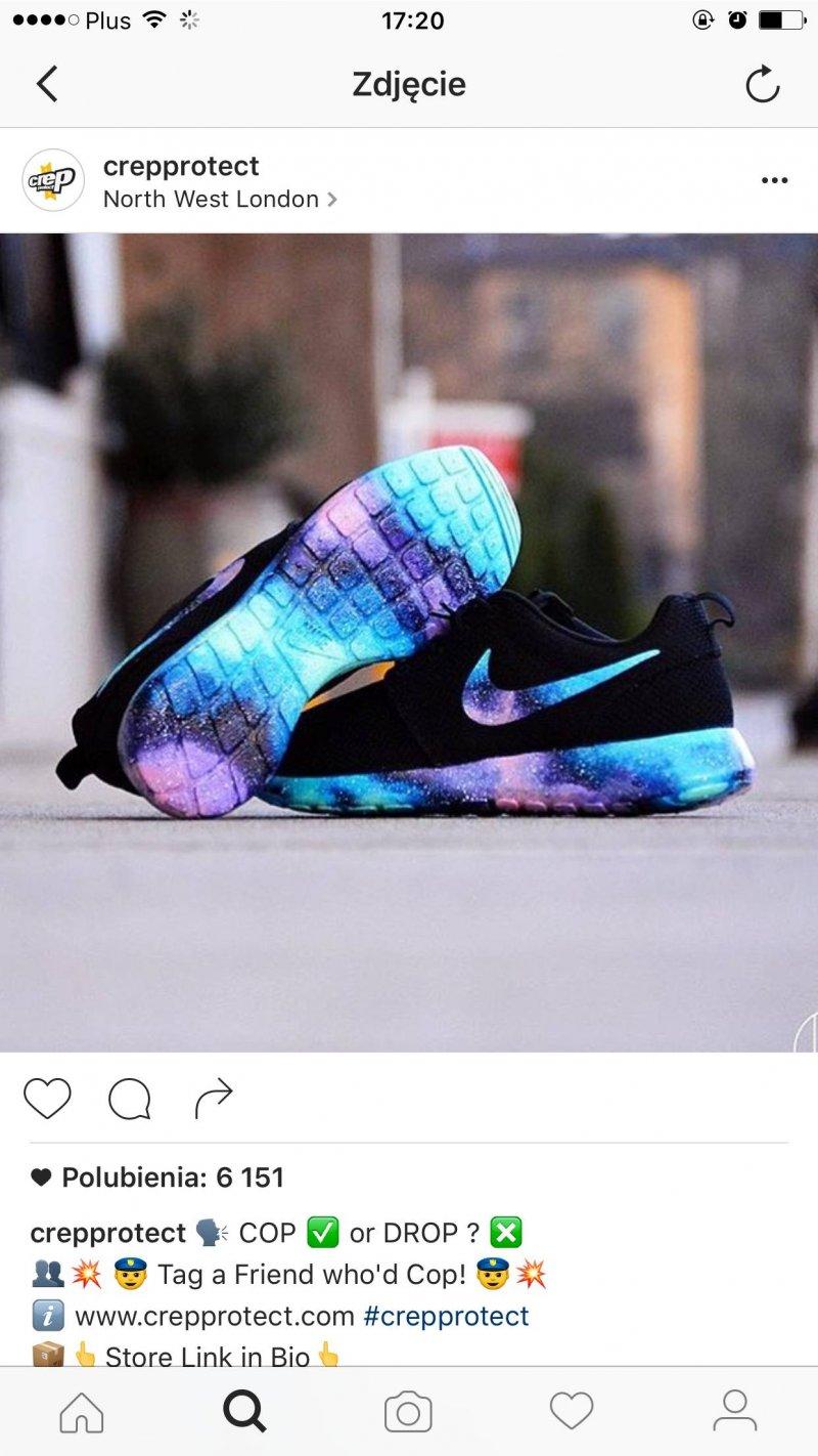 wholesale dealer 0bef2 777cf Nike roshe run galaxy - gdzie kupić   ,  nike,  black,  galaxy,  rosh