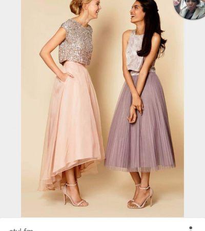 fac647d68b Dwie tiulowe sukienki spodnice - gdzie kupić