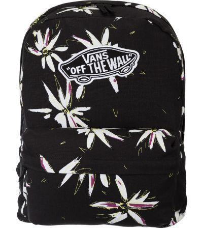 f63f844bff3b1 Plecak Vans-Czarny z kwiatami - gdzie kupić