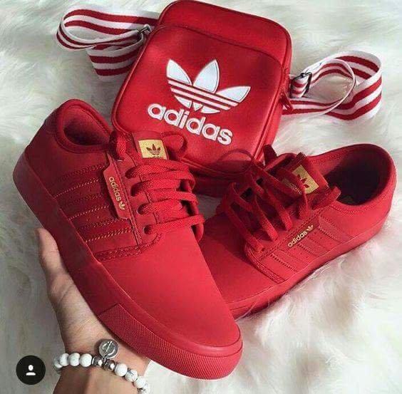 9b35bcb7139f4 czerwone Buty z Adidasa - gdzie kupić ? , #adidas, #butysportowe, #czerwone,  #Damskie