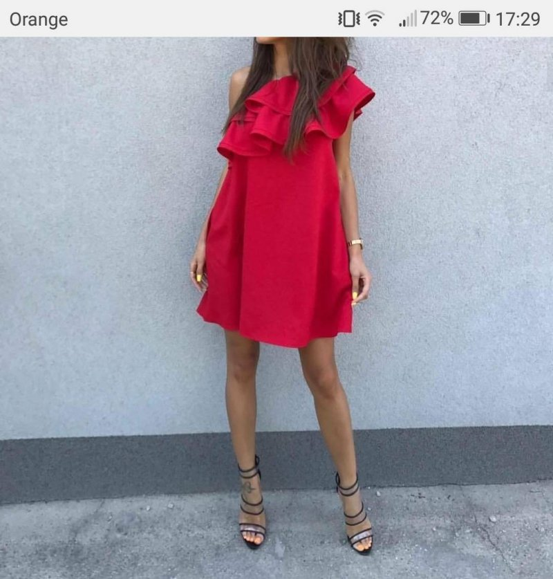 a6e500a0e4 Sukienka na jedno ramie - gdzie kupić