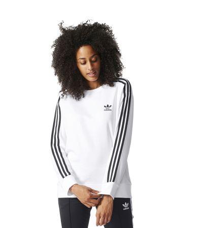 bluza adidas 3 stripes czarna