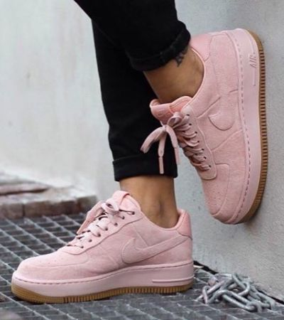 NIKE AIR FORCE SUEDE PINK gdzie kupic ? , #nike
