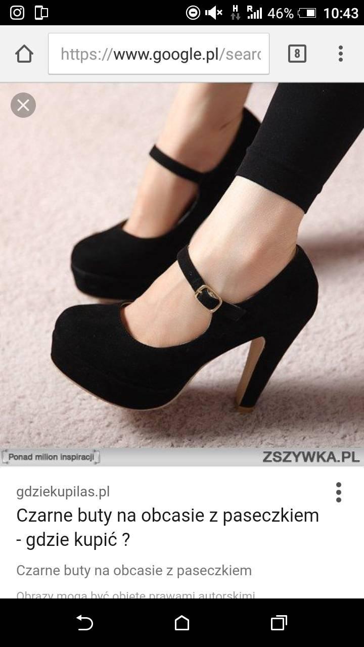 efadbe814b29f Czarne czółenka z paskiem na kostce - gdzie kupić ? , #czółenka, #pasek,  #potrzebuje, #czrne, #ich